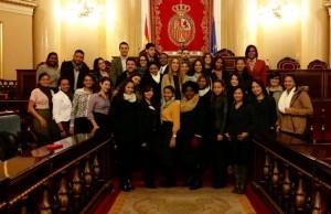 El Senado recibe a los estudiantes de Next IBS