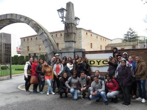 Los alumnos de Next IBS viajan a Segovia