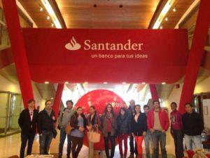 Los alumnos de Next IBS visitan la Ciudad Financiera del Banco Santander 2