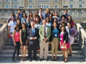 Los alumnos de Next IBS clausuran el curso en la sede de la UIMP