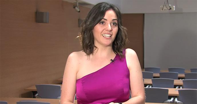 Sara Leonardo, egresada de Comunicación y Marketing Digital