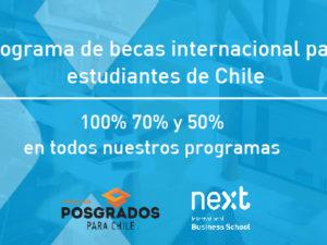 Programa internacional de becas para estudiantes de Chile