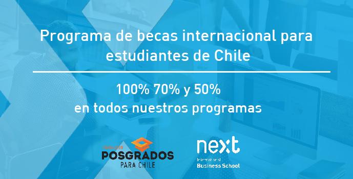 Programa Internacional de Becas para alumnos de Chile