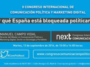 II Congreso Internacional de Comunicación Política de Next IBS