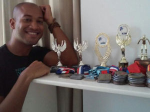 "Ricardo Núñez: ""A través de la natación he desarrollado disciplina"""