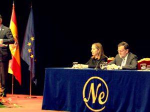 El Presidente de Next IBS acude a la entrega del premio al Presidente de Colombia