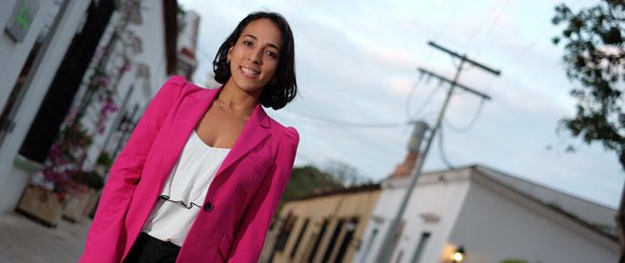Melina Cruz, alumni del Máster en Inteligencia Turística