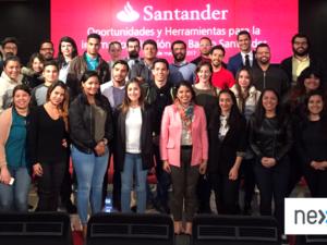 El Banco Santander cierra las sesiones de las Visitas y Clases en Empresas