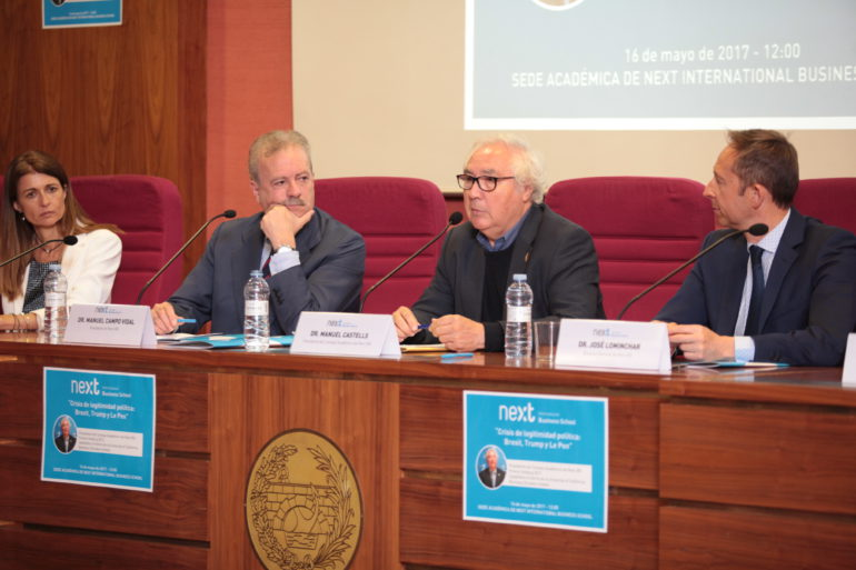 Manuel Castells, presidente del consejo académico de Next IBS