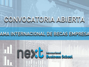 Next International Business School convoca becas para Big Data, Inteligencia Turística o Ciberseguridad