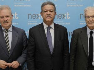 Leonel Fernández, ex presidente de la República Dominicana, visita Next International Business School