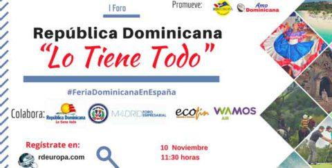Segunda edición de la Feria Dominicana en España
