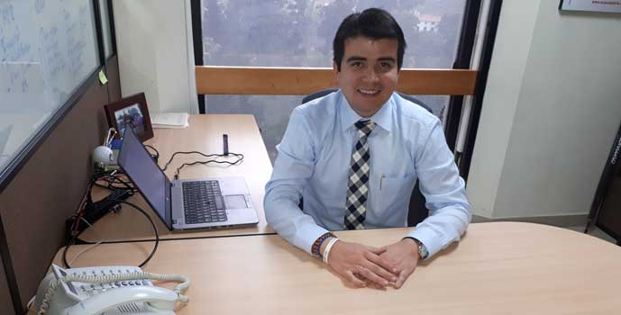 Germán David Mendoza, alumni del Master in International Business