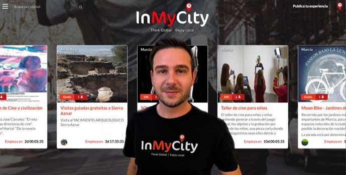 Manuel Vázquez, CEO InMyCity