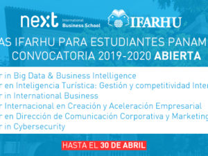 Conoce el programa de becas del IFARHU para estudiar en Next International Business School