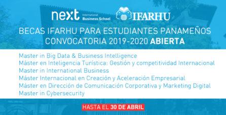 Becas Ifarhu y Next IBS 2019/2020