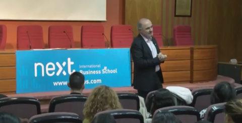 El periodista Fernando Pastor en Next IBS