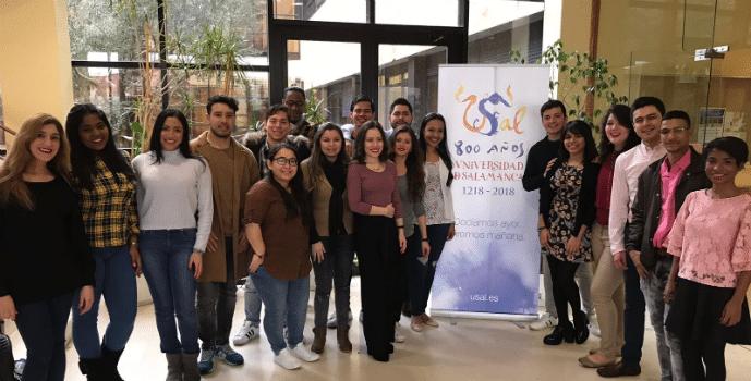 Los alumnos de MIB visitan la Universidad de Salamanca