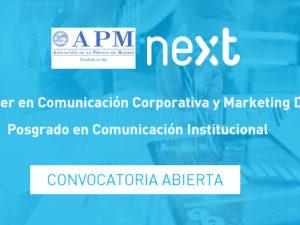 La APM y Next IBS ofertan becas para estudiar Comunicación