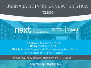 II Jornada de Inteligencia Turística de Toledo, el próximo 5 de junio