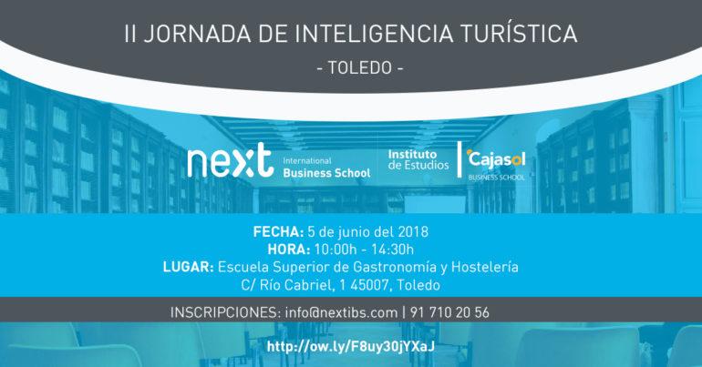 La II Jornada de Inteligencia Turística de Toledo se celebrará el 5 de junio