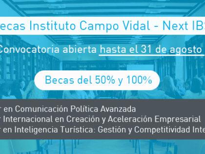 Next IBS otorgará becas a través del Instituto Campo Vidal