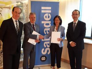Banco Sabadell ha firmado un convenio con el Club Inter Pyme para la Internacionalización de la Pyme