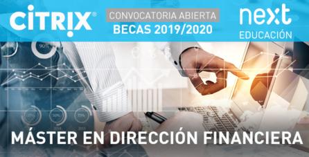 Becas Citrix para el Máster en Dirección Financiera