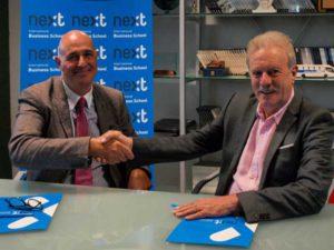 Eurocajarural y Next IBS firman un convenio de colaboración