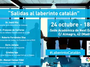 Foro Next analizará la situación de Cataluña en su próxima edición