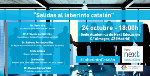 La situación de Cataluña, a debate en el Foro Next