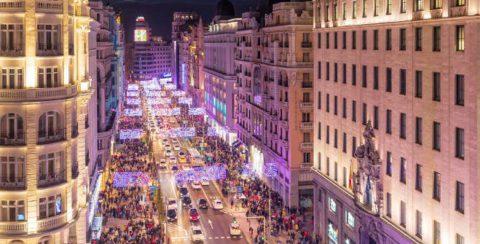 Madrid encenderá sus luces de Navidad hoy