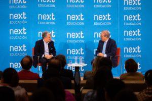 Foro Next con Juan Pedro Moreno, presidente de Accenture en España, Portugal e Israel