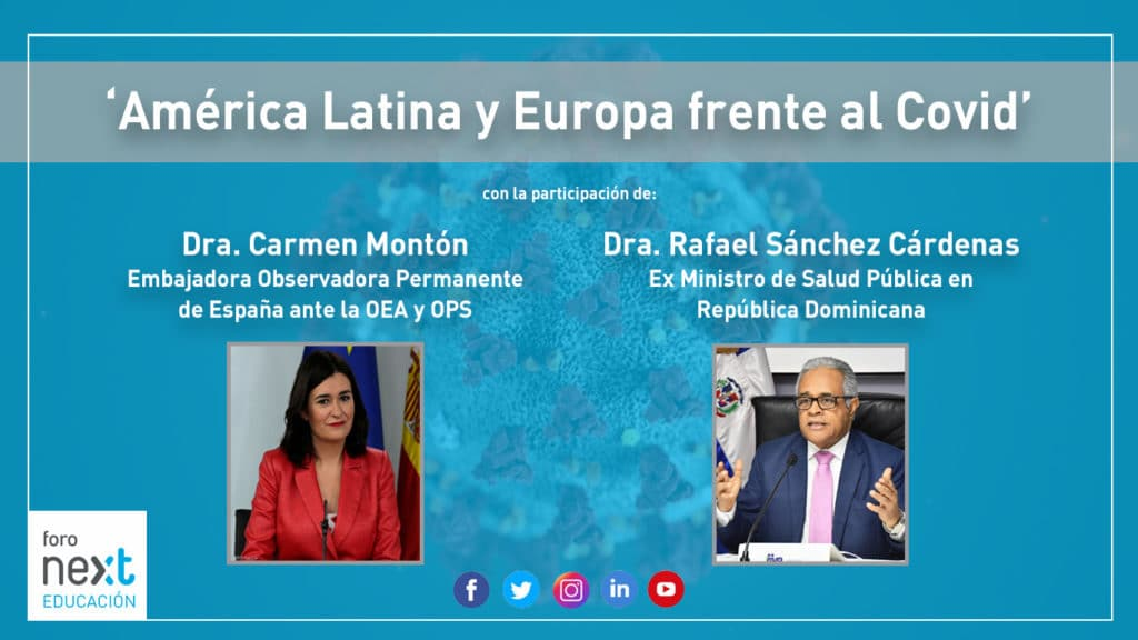Foro Next con Carmen Montón y Rafael Sánchez Cárdenas